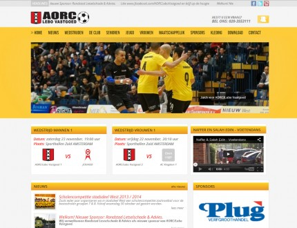 Aorc Lebovastgoed Website