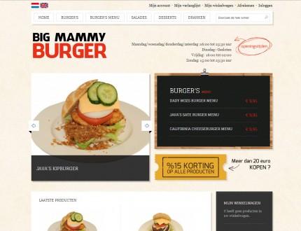 Big Mammy Burger Webwinkel