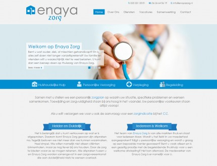 Enaya Zorg Website