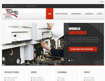 Garantservice website