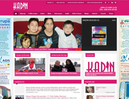 Kadin Dergisi Website