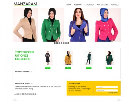 Manzaram Website