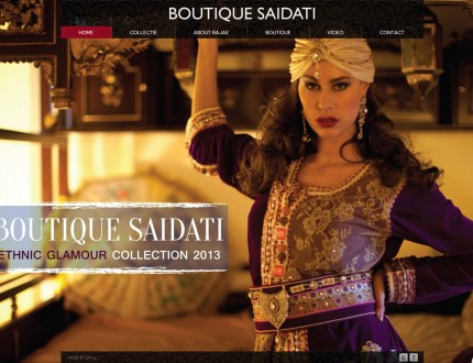 Boutique Saidati Website