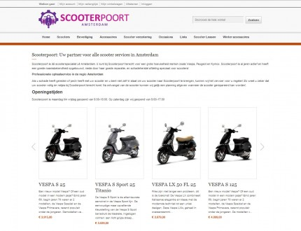 Scooterpoort Webwinkel