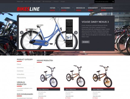 Bikesline website